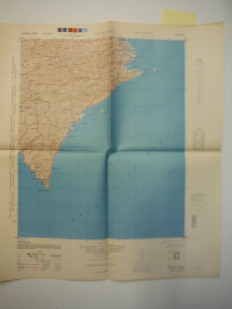 Army Map Service Map of  MUROTO, Central Japan (1945)