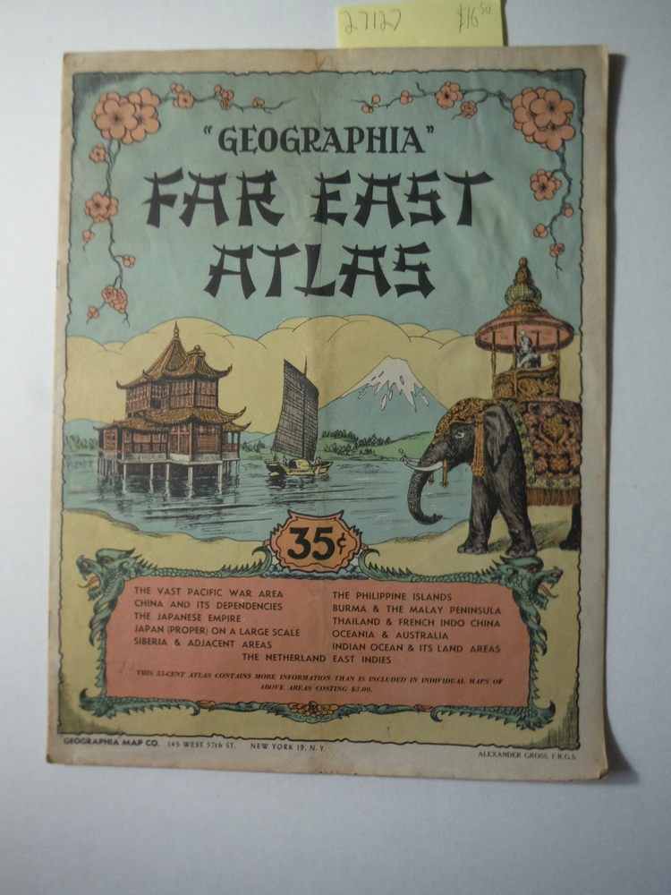 Geographia Far East Atlas