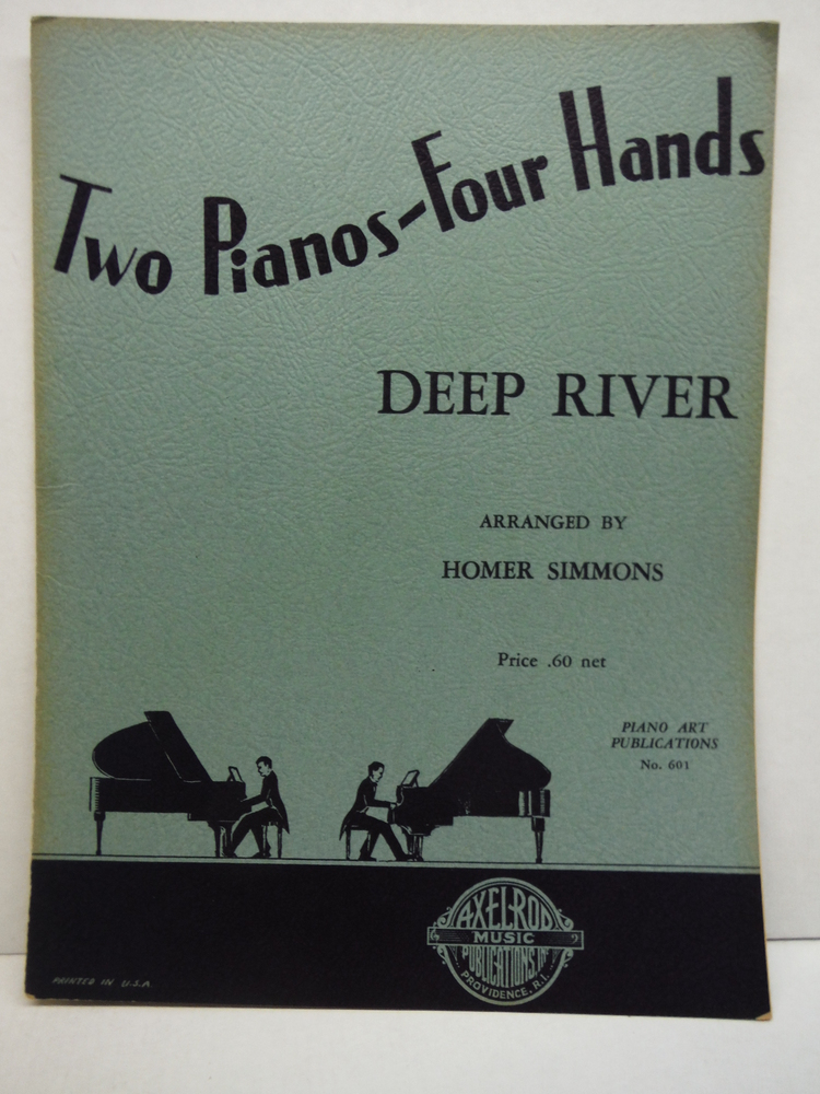 Deep River Two Pianos- four hands
