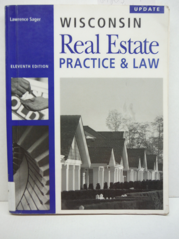 Wisconsin Real Estate Practice & Law, 11th Edition Update