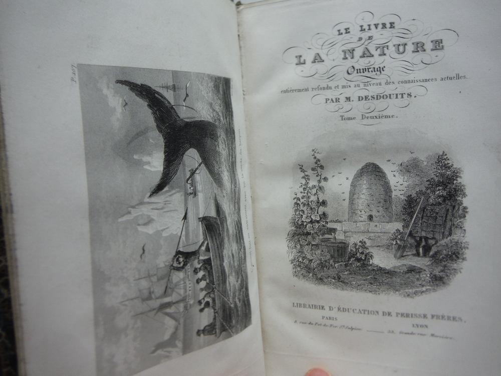 Image 1 of Le livre de la Nature ou l'Histoire naturelle, la physique et la chimie. Ouvrage