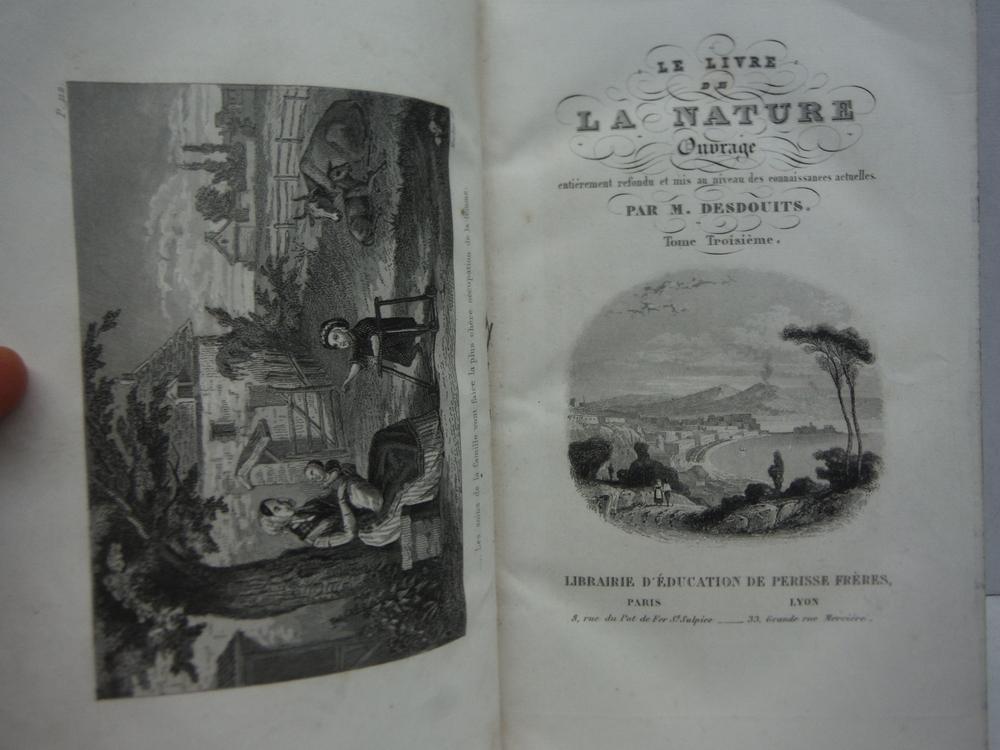 Image 3 of Le livre de la Nature ou l'Histoire naturelle, la physique et la chimie. Ouvrage