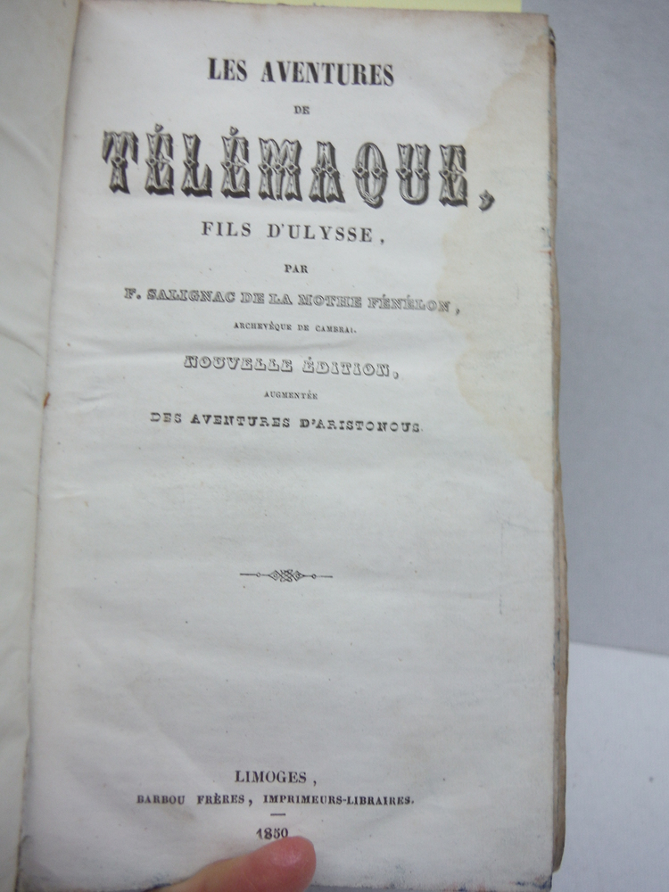 Image 1 of Les Aventures de Telemaque Fils D'Ulysse