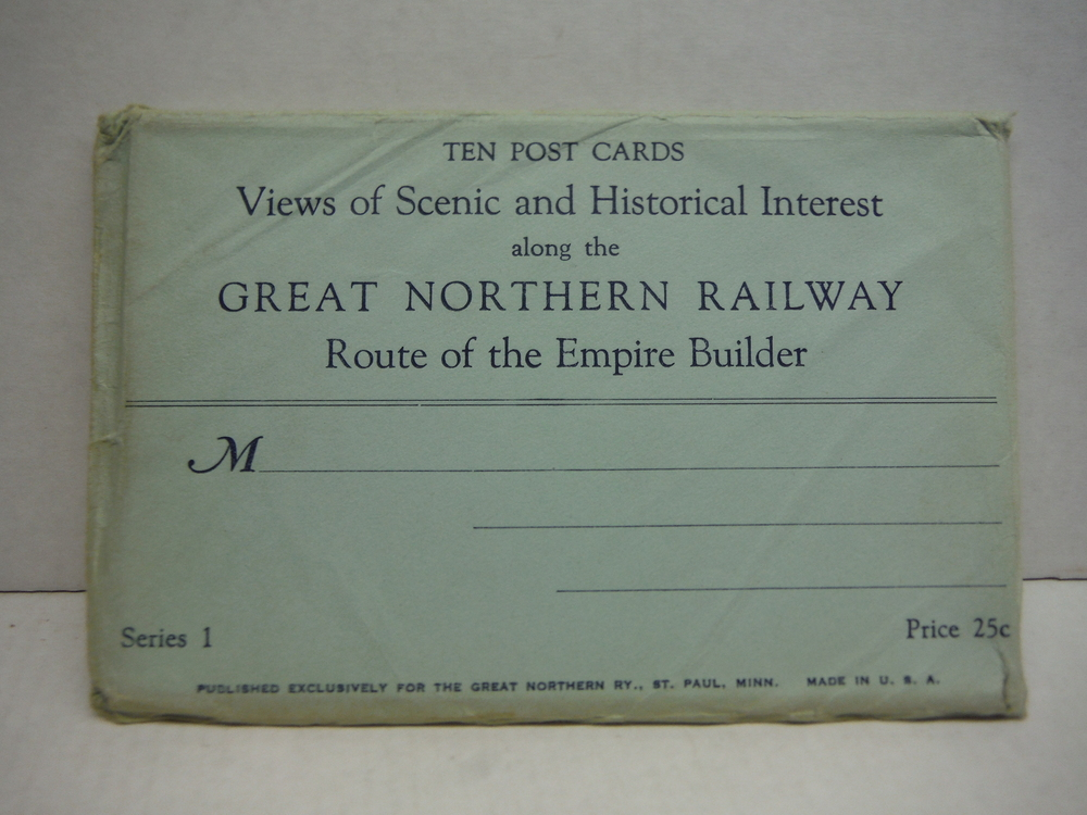 Image 1 of Ten Post Cards Views of Scenic and Historical Interest along the Great Northern