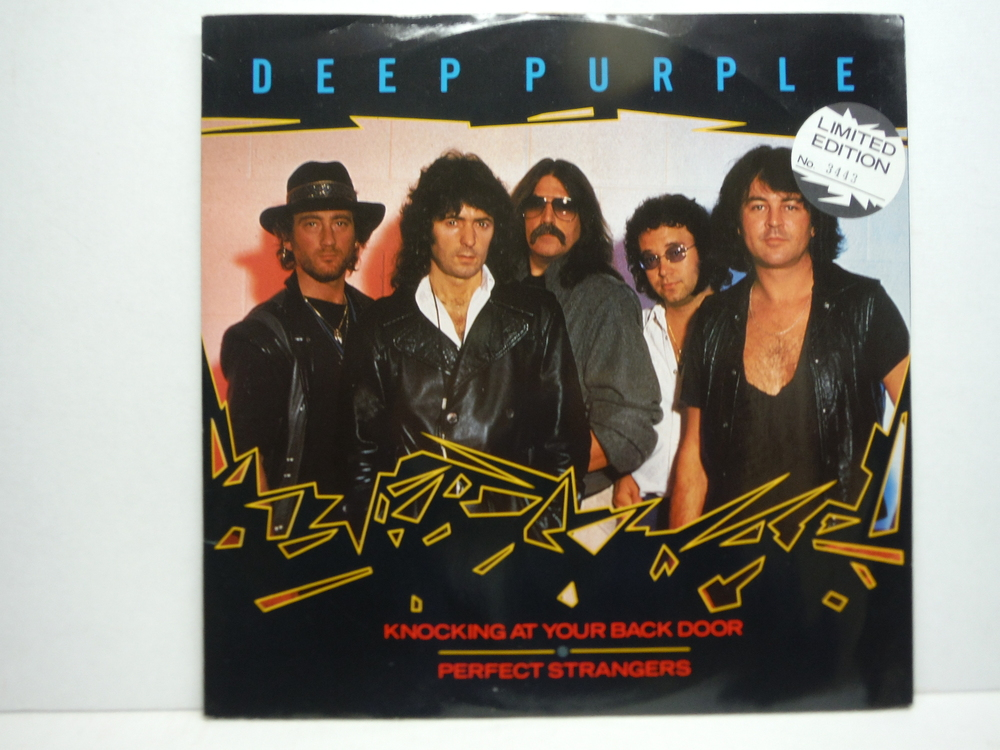Deep Purple Knocking At Your Back Door & Call Of The Wild 12 Vinyl single  45 R