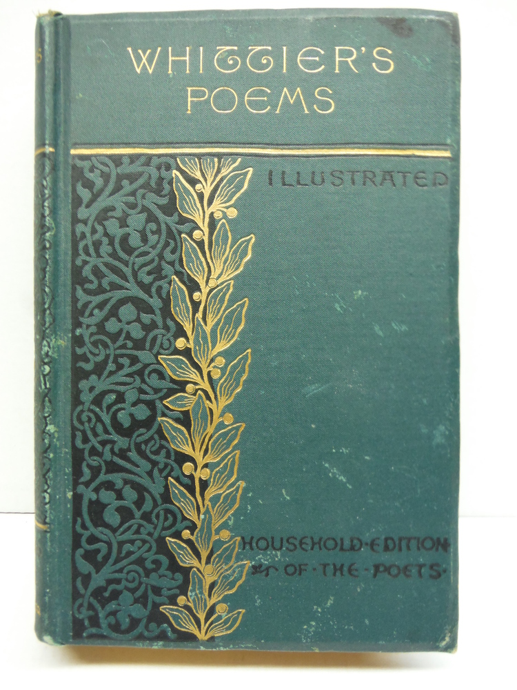 Image 0 of The Complete Poetical Works of John Greenleaf Whittier Household Edition with Il