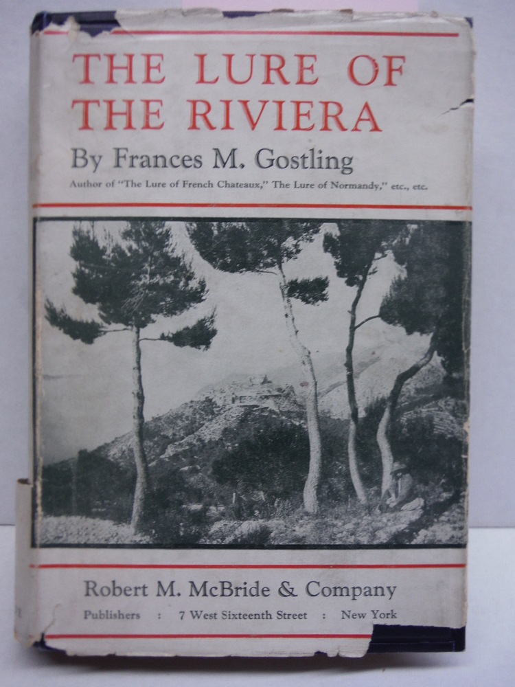 Image 0 of The lure of the Riviera, (The lure of travel)