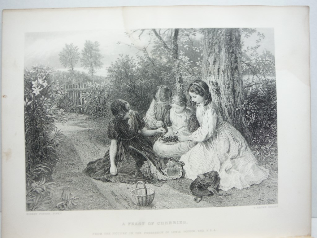 Image 0 of T. Brown  Antique Steel Engraving