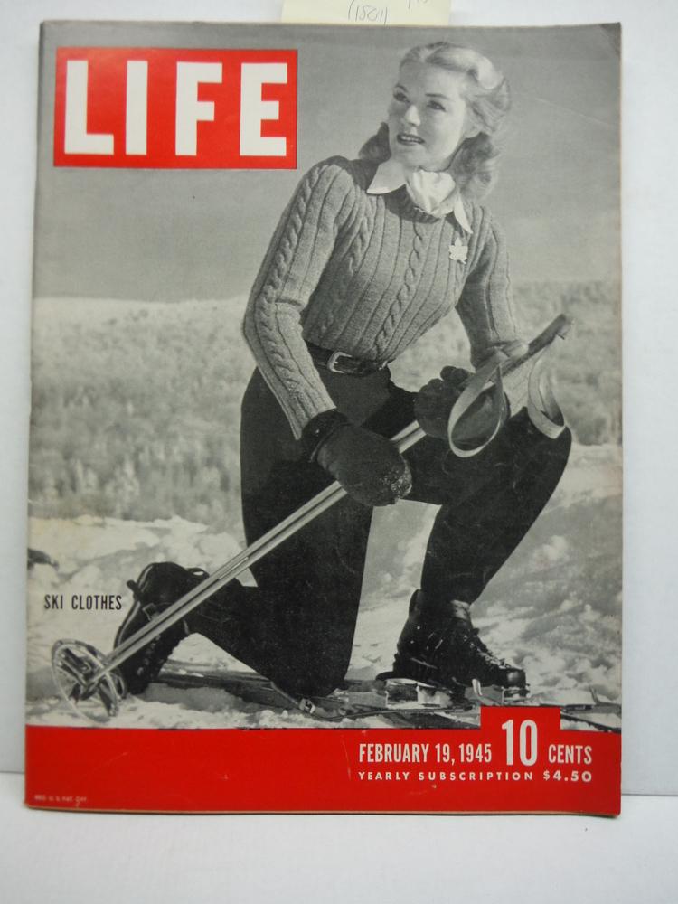 Image 0 of Life Magazine, February 19, 1945