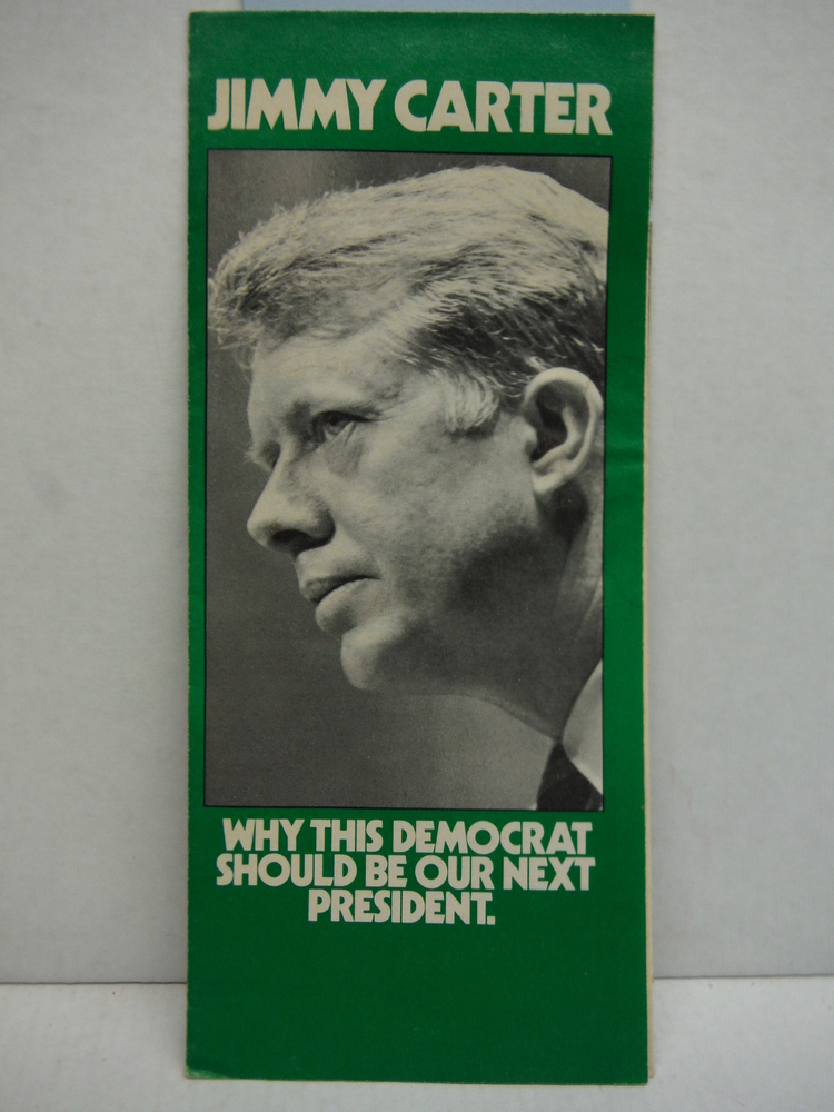 Vintage Jimmy Carter Campaign Brochure  (1976)