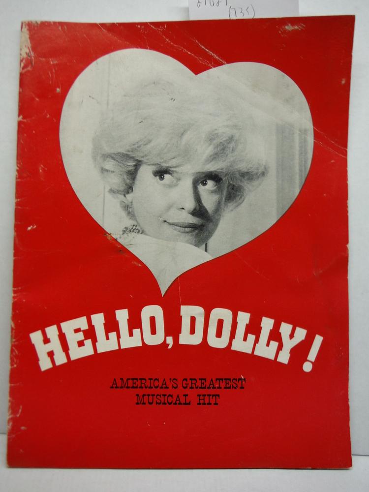 Hello Dolly - Carol Channing Souvenir Program