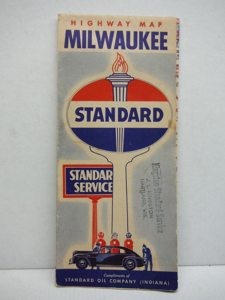High Map Milwukee - Standard Oil Company (1942)