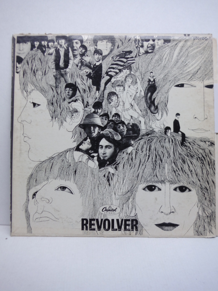 REVOLVER by The Beatles, Capitol Records, Vinyl, 1966