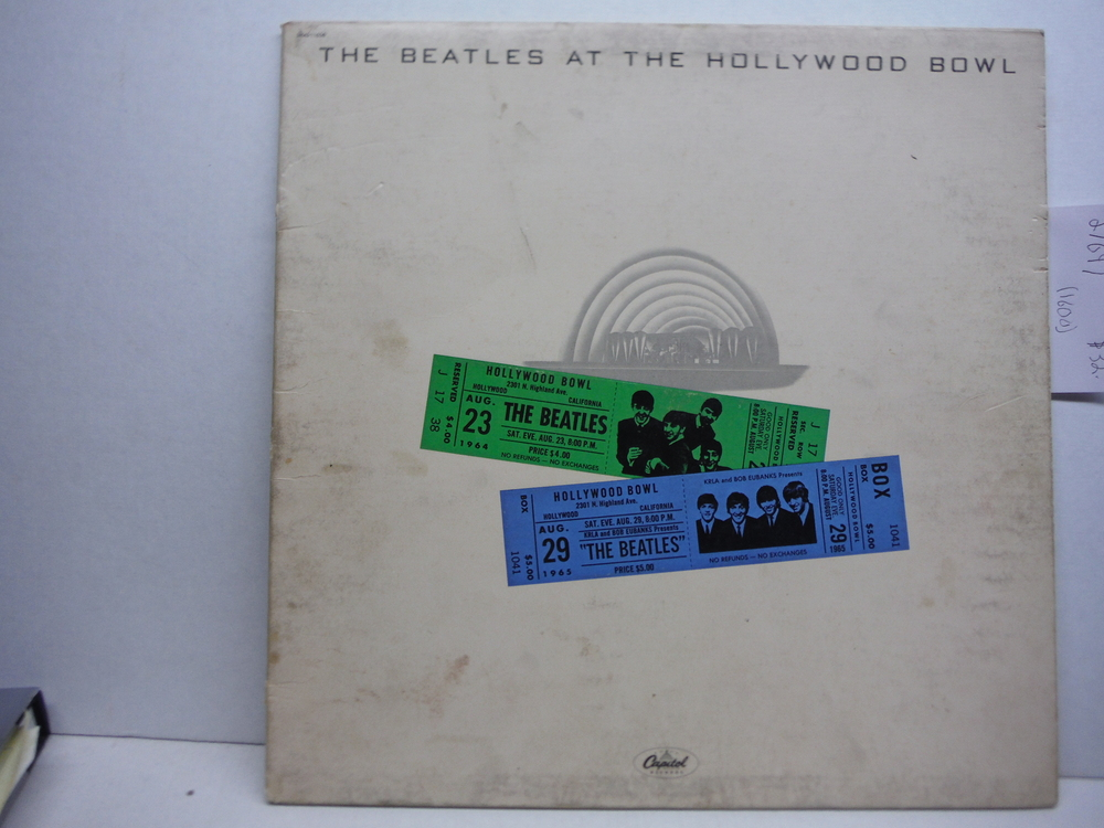 The Beatles At The Hollywood Bowl LP - Capitol - SMAS-11638