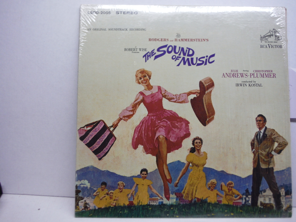 The Sound of Music an Original Soundtrack Recording RCA Lsod-2005 Stereo