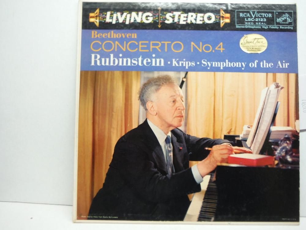 Image 0 of Beethoven: Piano Concerto No. 4, Op. 58. Artur Rubinstein, Piano