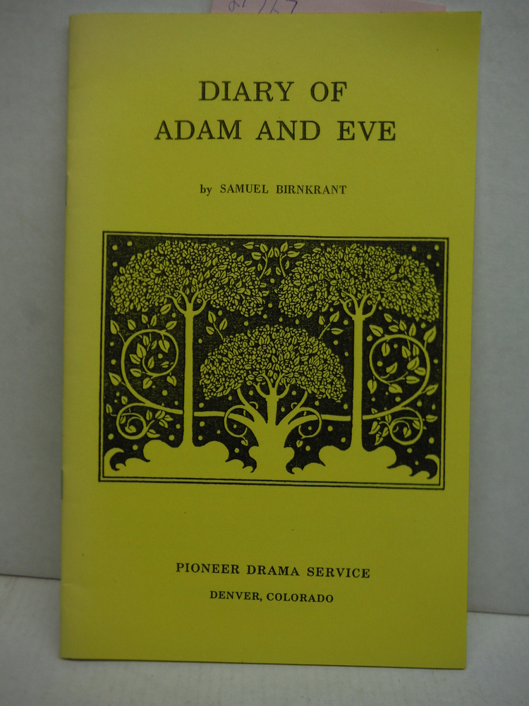 Diary of Adam and Eve