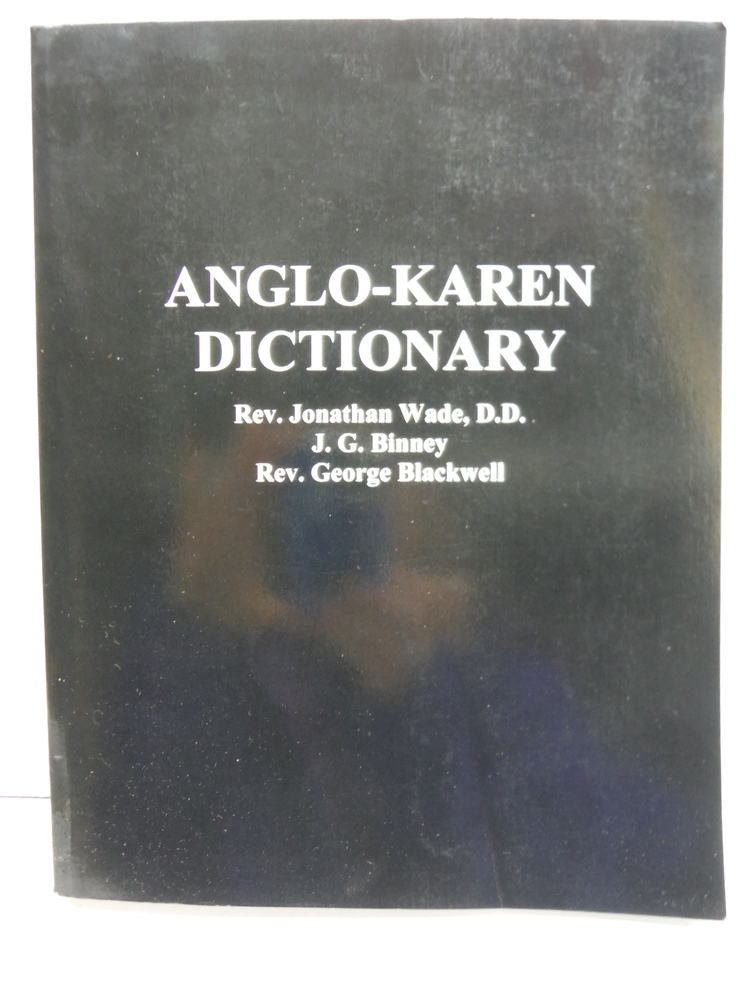 Anglo-Karen Dictionary