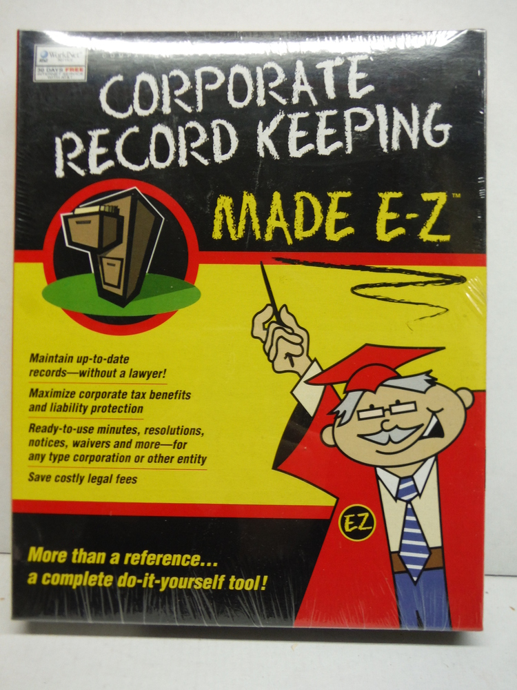 CorporateRecord Keeping Made E-Z  CD ROM