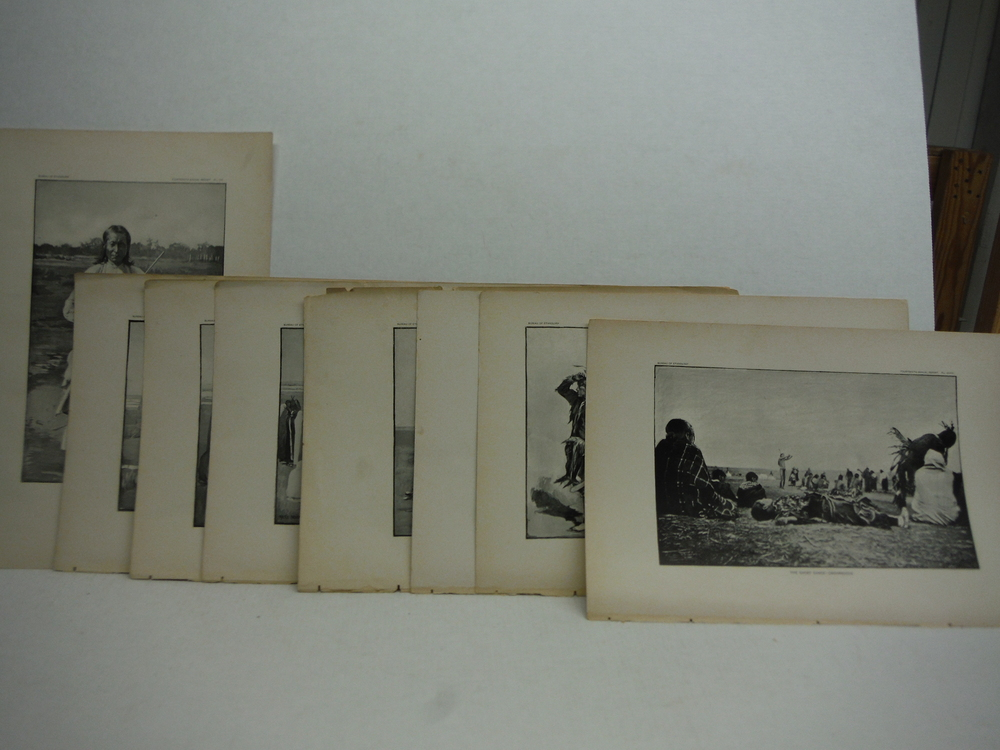 Image 0 of  Native American Dreamers - Ghost Dance Antique Prints  (7) - Bureau of Ethnolog