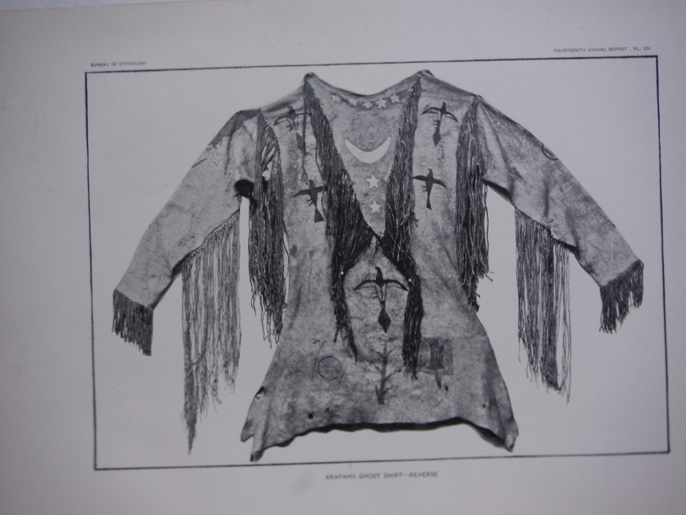 Image 1 of Native American Ghost Shirts - Antique Prints (3) - Bureau of Ethnology (1896)