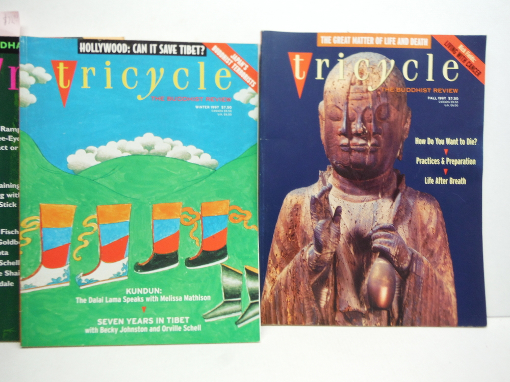Image 2 of Tricycle The Buddhist Review - 12 Issues (1994-1999)