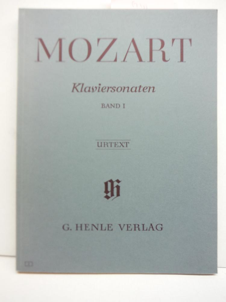 MOZART: Klaviersonaten, Band 1 (Urtext)