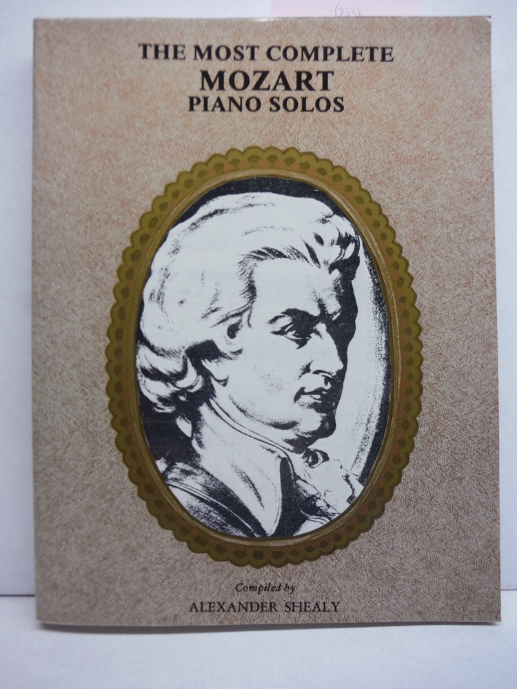 The Most Complete Mozart Piano Solos