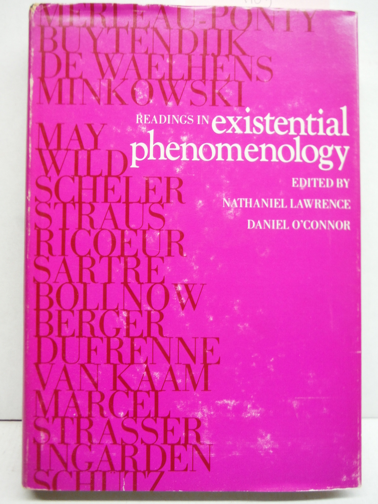 Readings in Existential Phenomenology