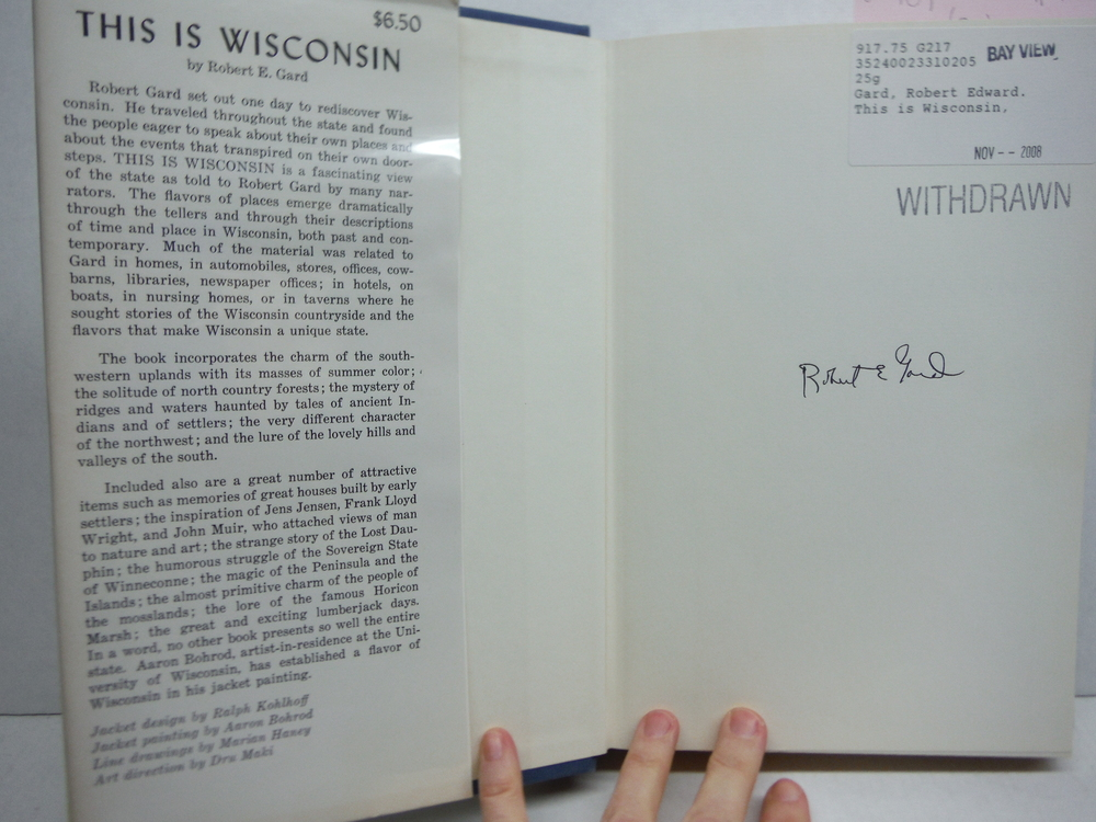 Image 1 of THIS IS WISCONSIN, Signed By the Author