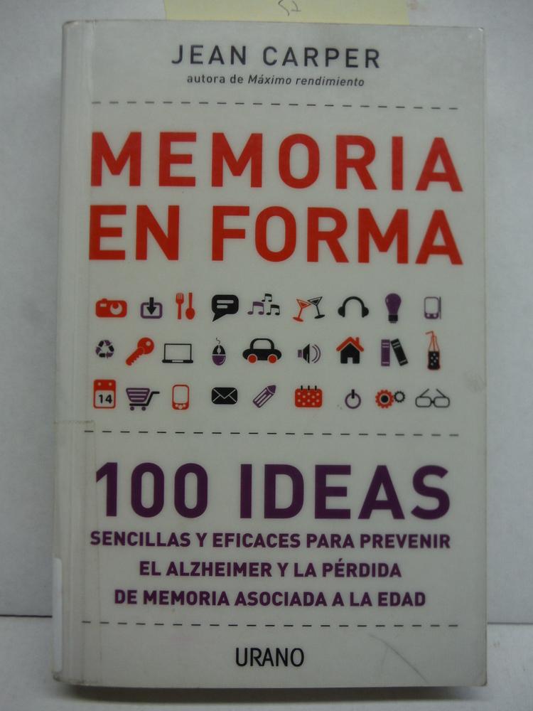 Image 0 of Memoria en forma (Spanish Edition)