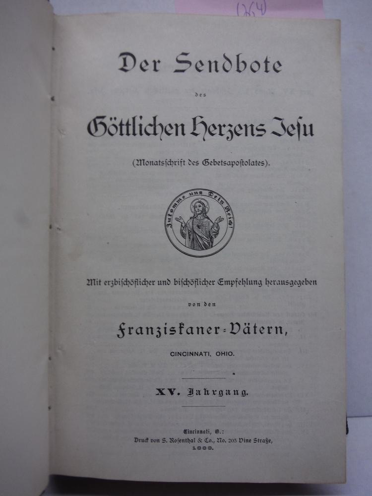 Image 1 of Der Sendbote des gottlichen Herzens Jesu. Monatsschrift des Gebetsapostolates. M