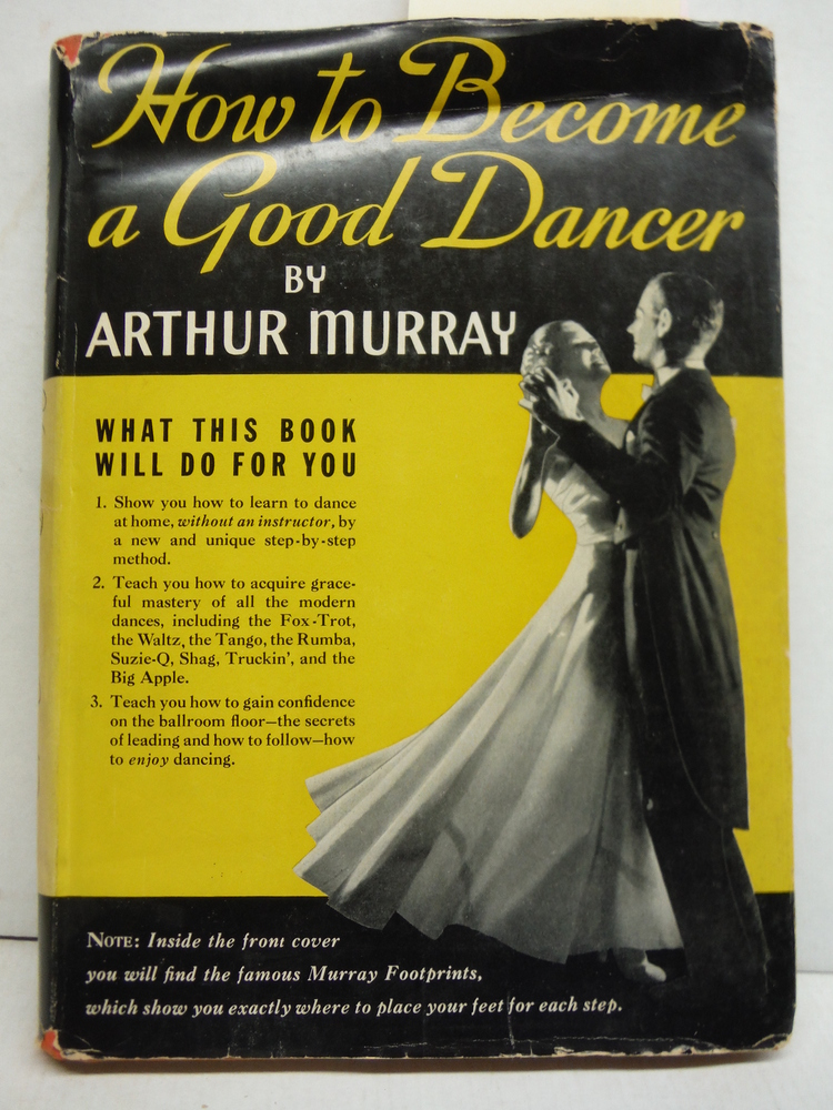 HOW TO BECOME A GOOD DANCER, Including Set of Murray Magic Footprints (SIGNED)
