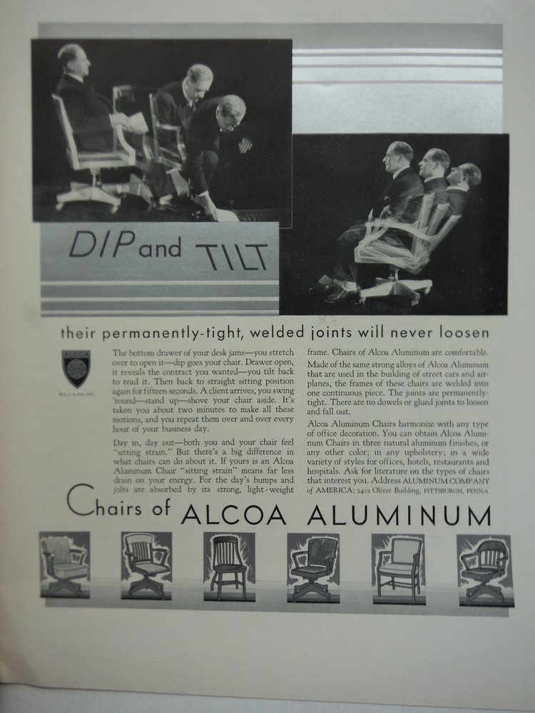 Alcoa Aluminum. Advertising Fortune Magazine February 1932