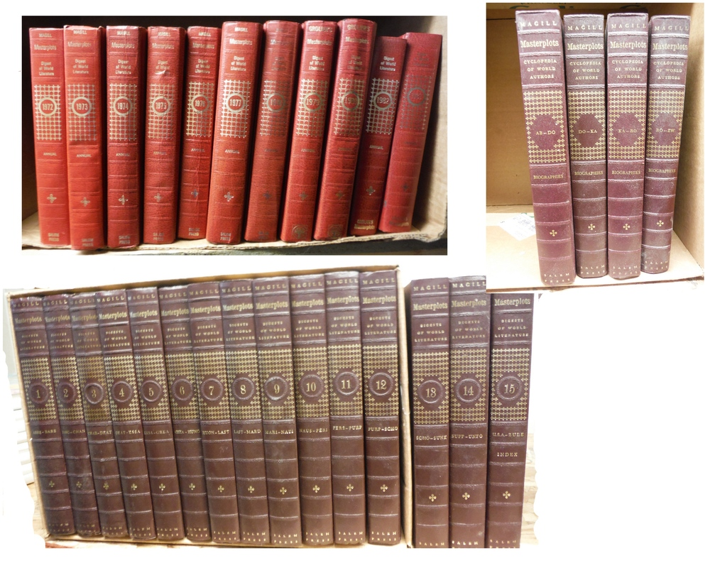 Magill's Masterplots:  Masterpieces of World Literature in Digest Form – 15 Vo