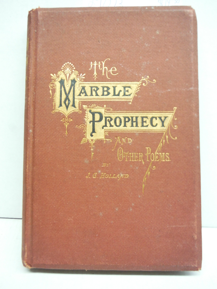 Image 0 of The Marble Prophecy and other poems