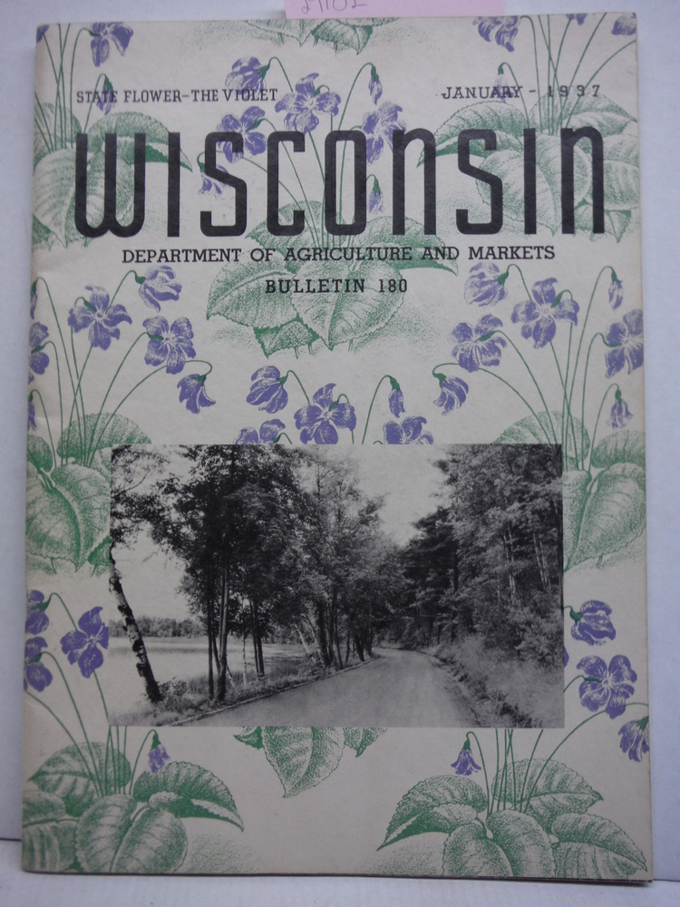Wisconsin Department of Agriculture & Markets Bulletin 180-1937-Photographs