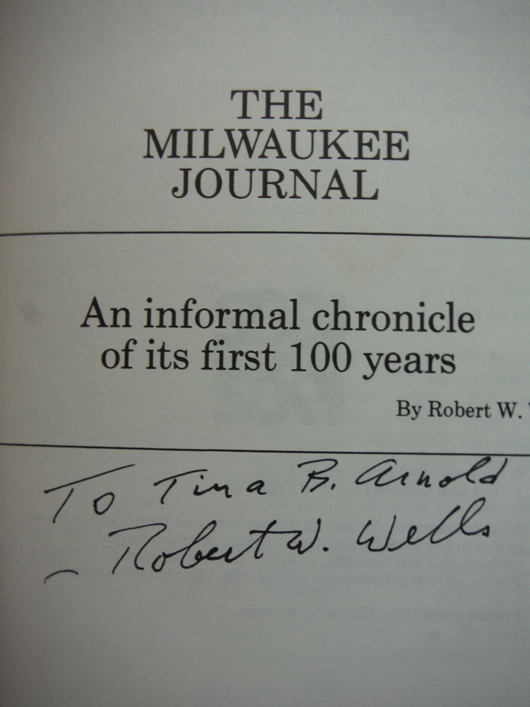 Image 1 of The Milwaukee Journal: An informal chronicle of its first 100 years