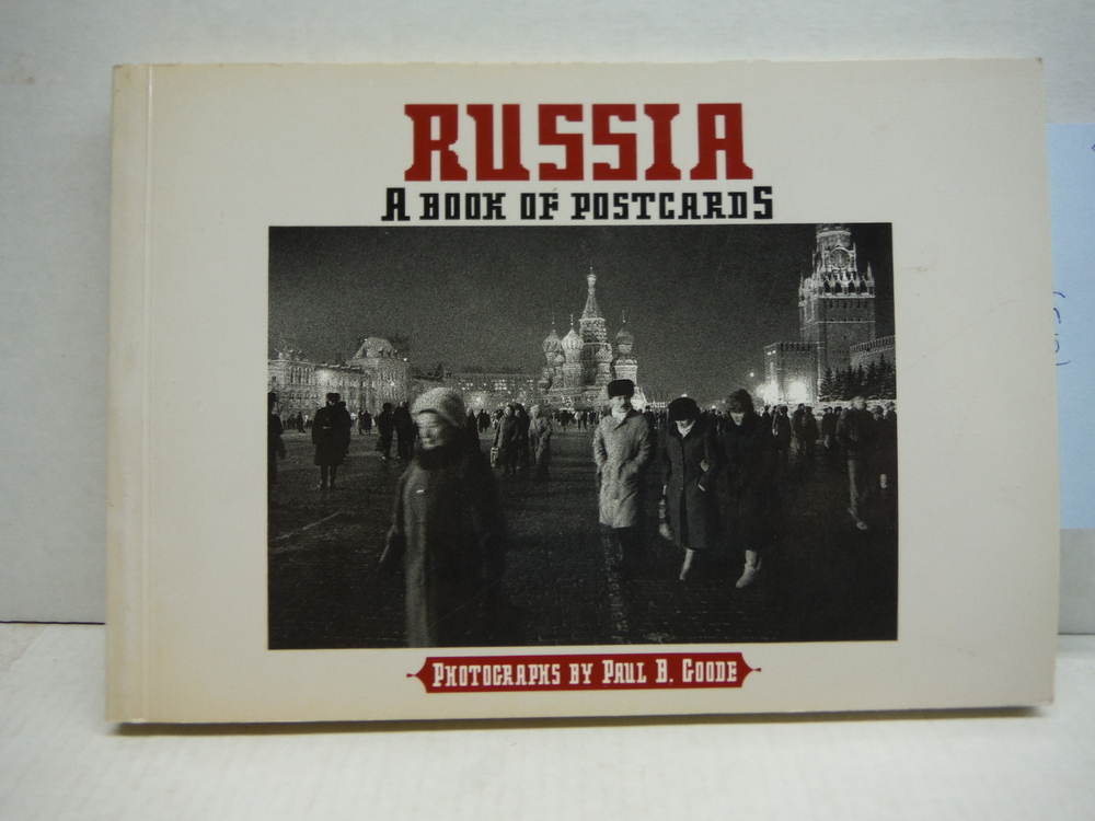 Russia: Photographs by Paul B. Goode, Postcard Book