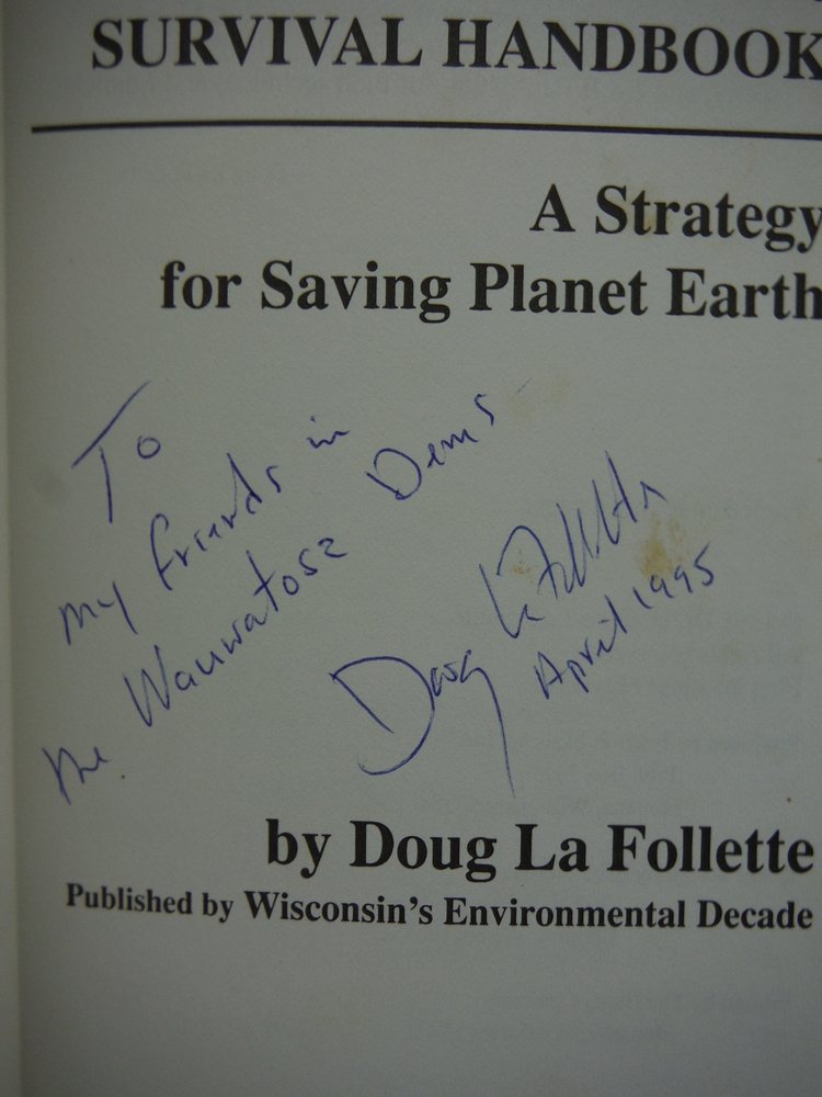 Image 1 of The Survival Handbook: A Strategy for Saving Planet Earth