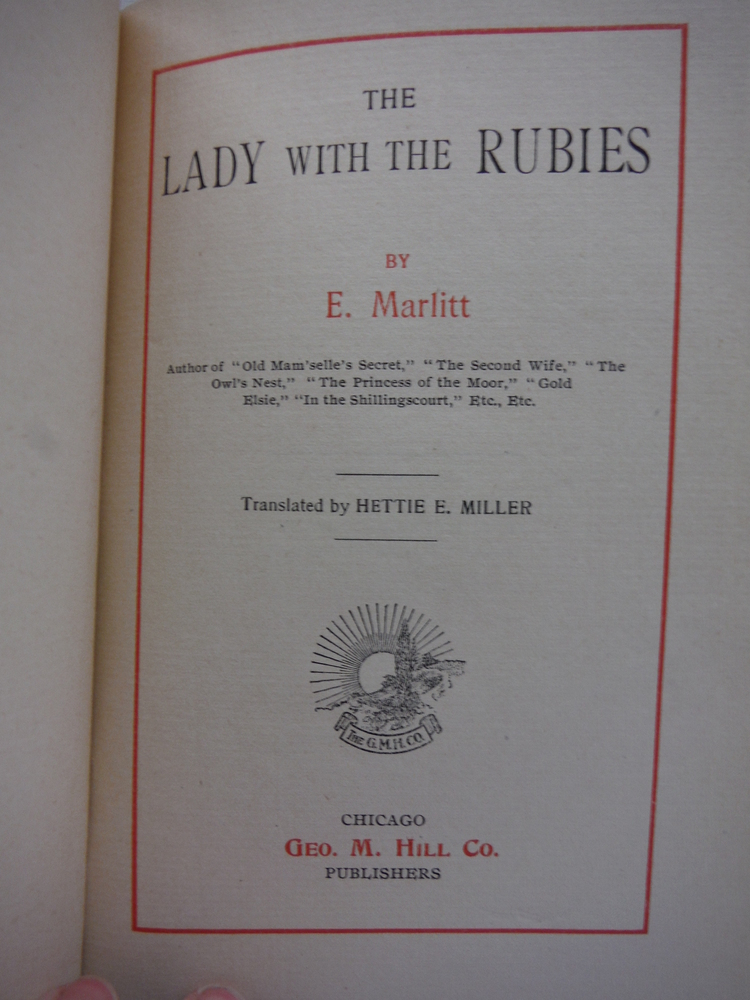 Image 1 of The Lady with the Rubies
