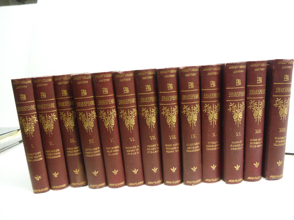 The Works of William Shakspeare - The Illustrated Handy Volume Edition (13 Vols)