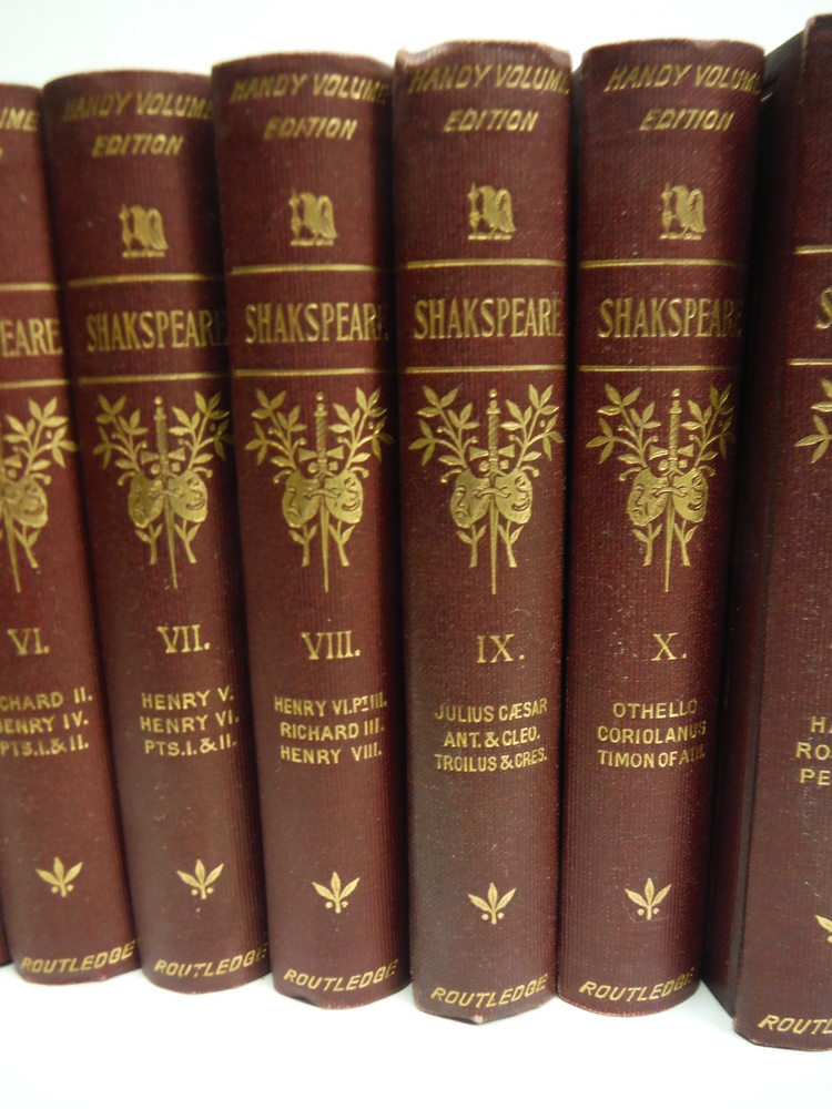 Image 3 of The Works of William Shakspeare - The Illustrated Handy Volume Edition (13 Vols)