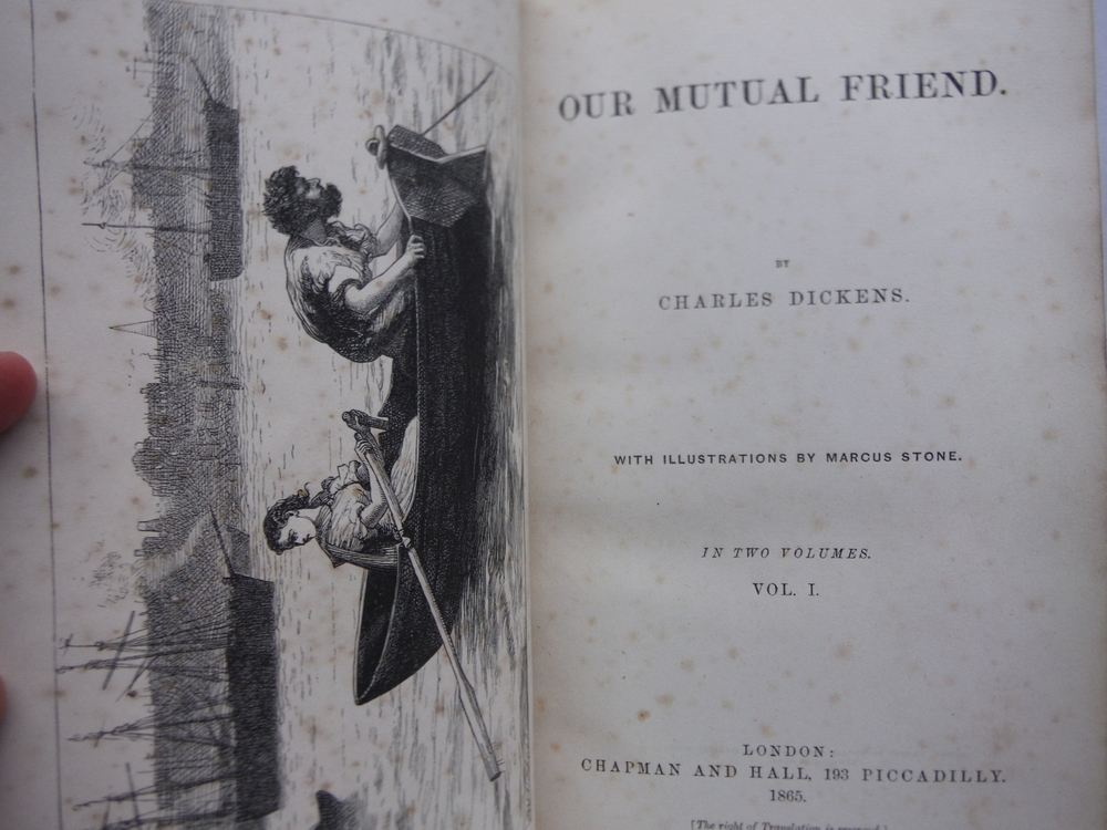 Image 2 of Our Mutual Friend - 2 Vols. (First Edition)