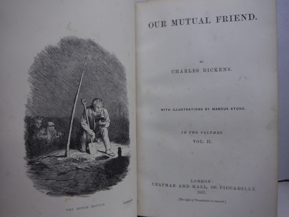 Image 3 of Our Mutual Friend - 2 Vols. (First Edition)