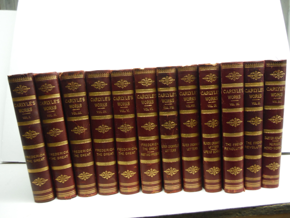 The Works of Thomas Carlyle (Complete) Vols. I thru XII (1897)