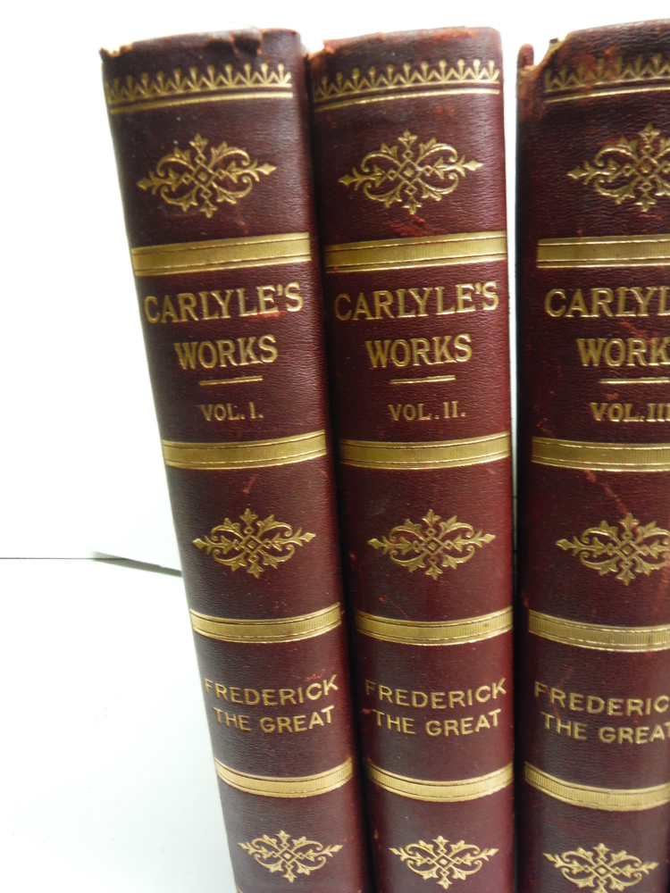 Image 1 of The Works of Thomas Carlyle (Complete) Vols. I thru XII (1897)