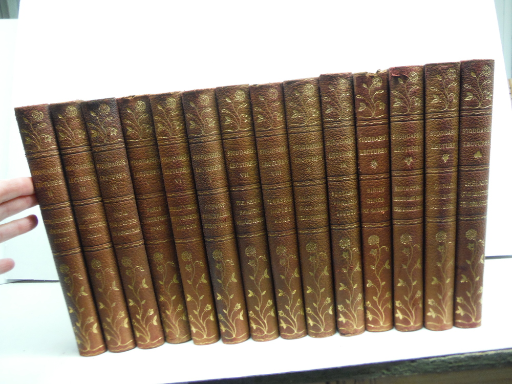 Image 0 of John L. Stoddard's Lectures - 14 Vols. (1907)