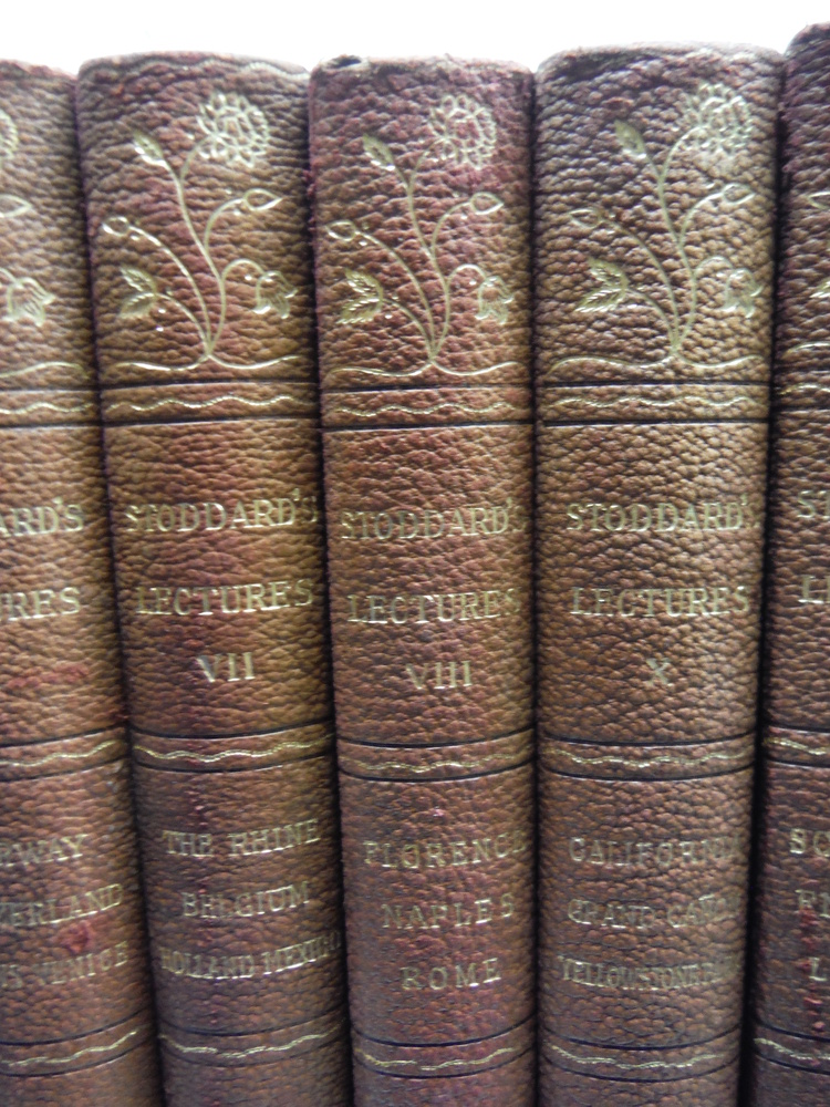 Image 1 of John L. Stoddard's Lectures - 14 Vols. (1907)