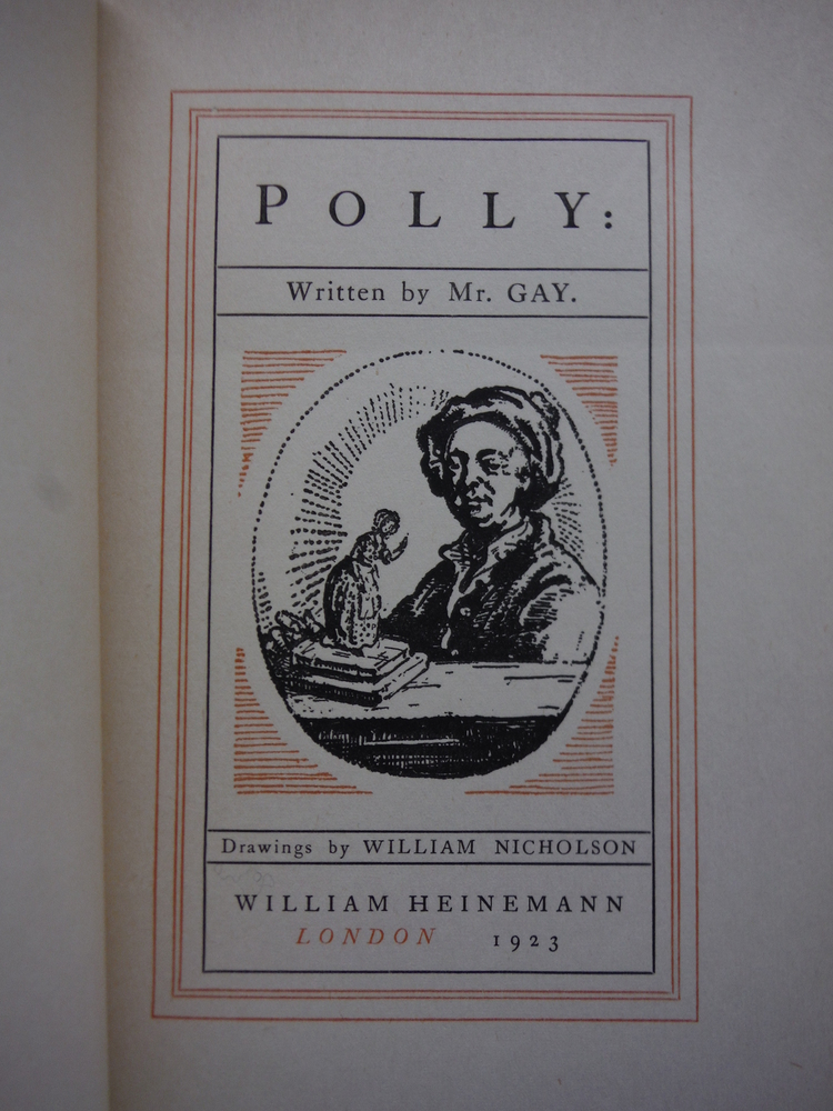 Image 1 of Polly. Written by Mr. Gay. Drawings by William Nicholson.